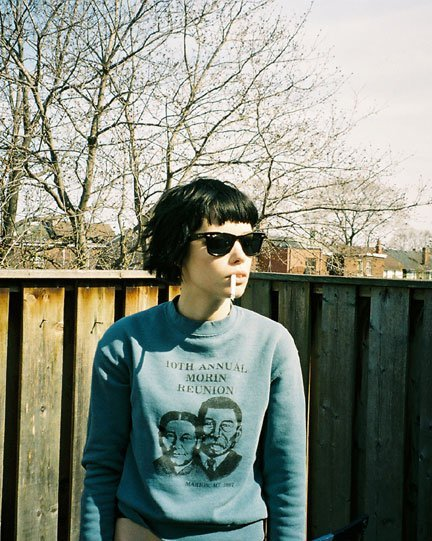 Alice Glass is The Girl Who