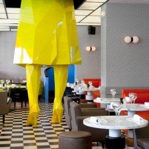 THE COOL GERMAIN CAFE IN PARIS