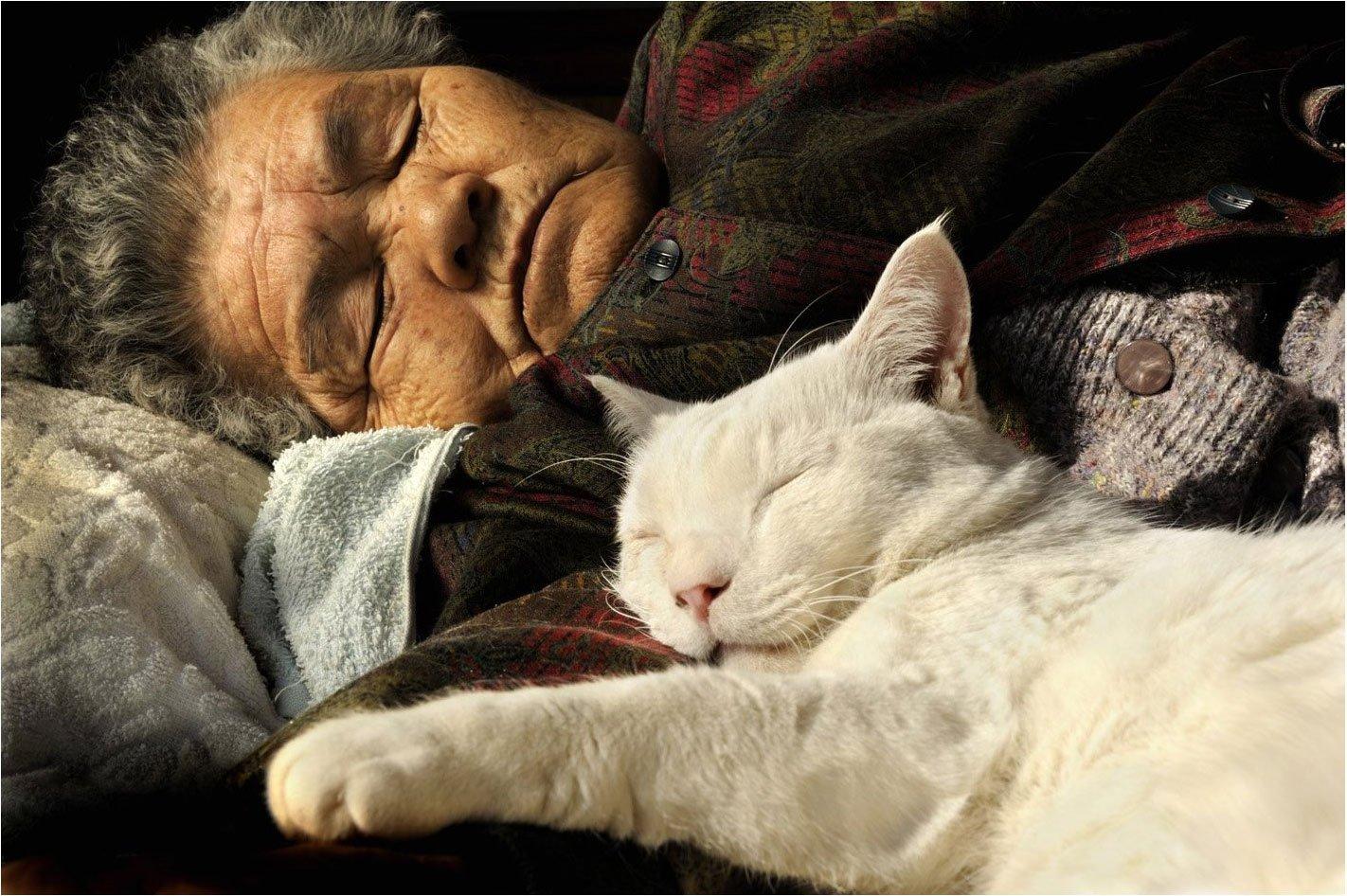 Фото спящих старушек 3 фотография
