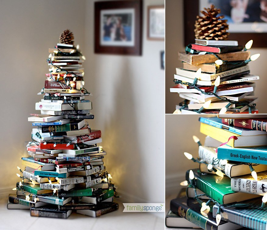 alternative christmas tree books