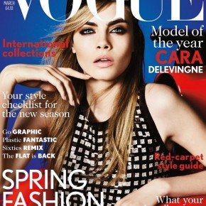 VOGUE UK - THE MARCH 2013 ISSUE
