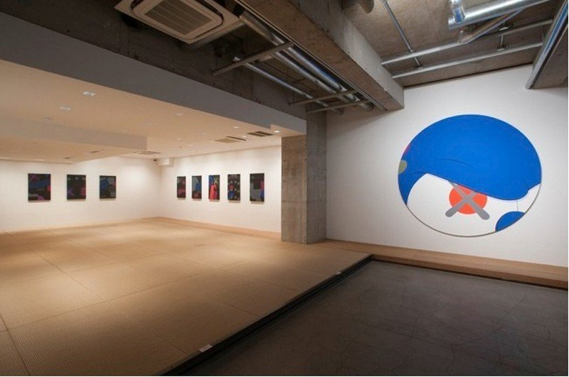 kaws exhibition kaikai kiki gallery tokyo 7