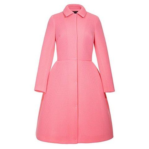vogue uk september issue simone rocha pink coat