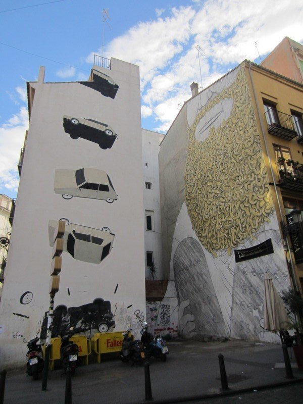 the escif and blu murals in valencia 1