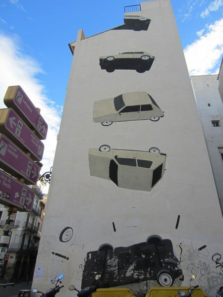the escif and blu murals in valencia 2