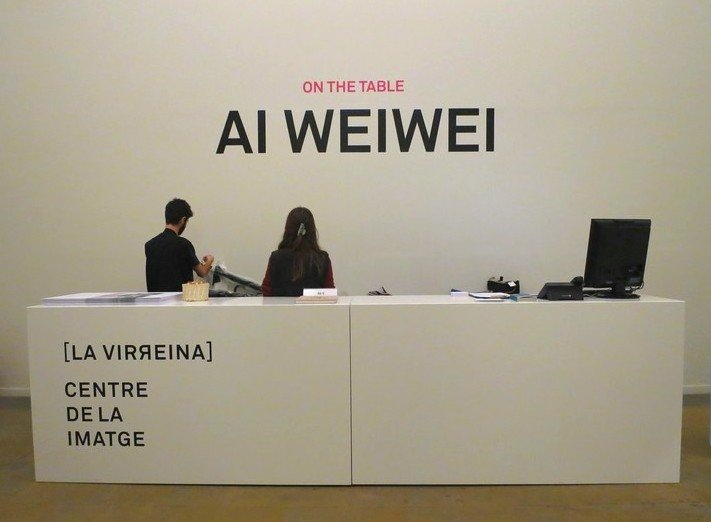 on the table ai weiwei barcelona x