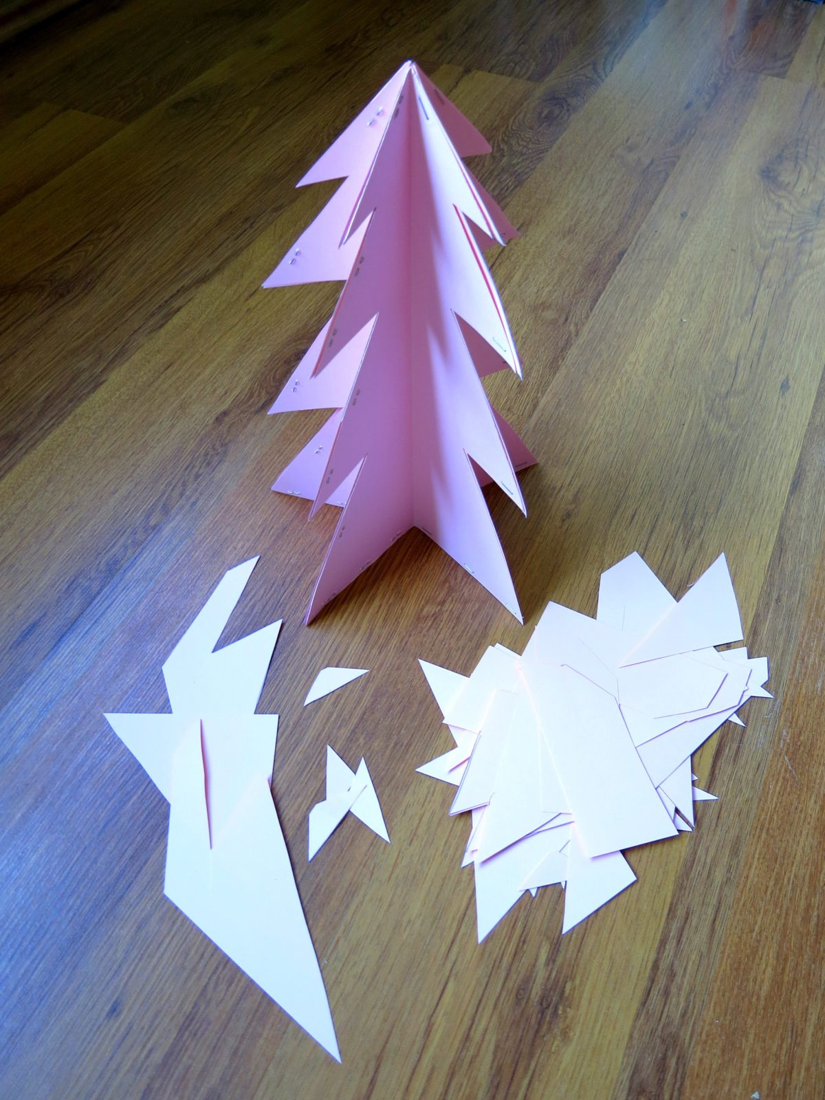 alternative christmas trees by little aesthete c